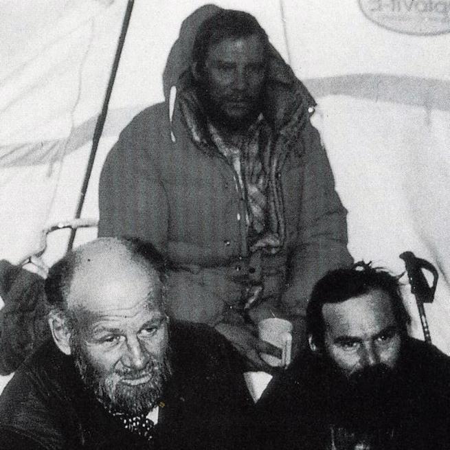 K2 First Ascent South Face 1986 - Kurt Diemberger, Jerzy Kukuczka, Janusz Majer - The Endless Knot