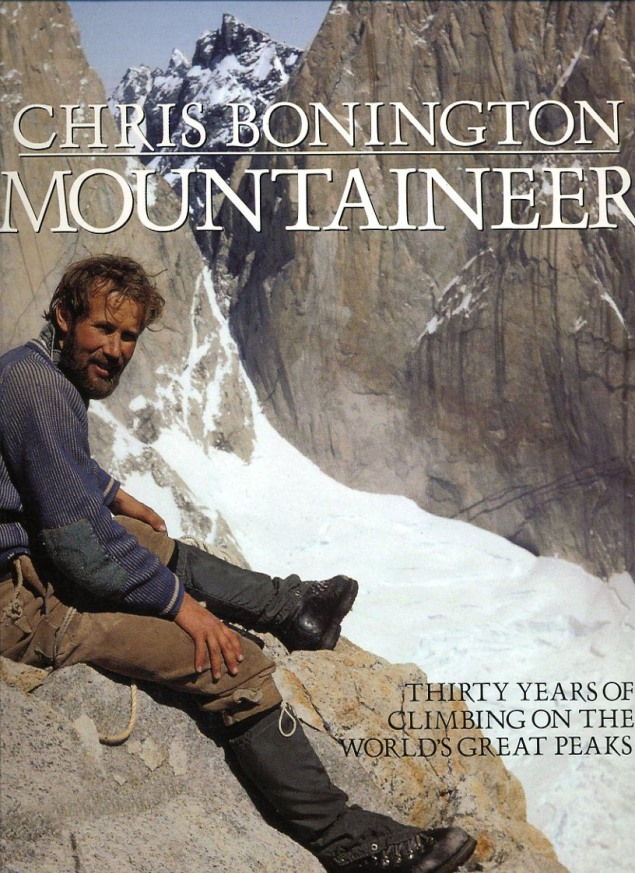 Chris Bonington Mountaineer - Chris Bonington after first ascent of Central Tower of Paine in 1962