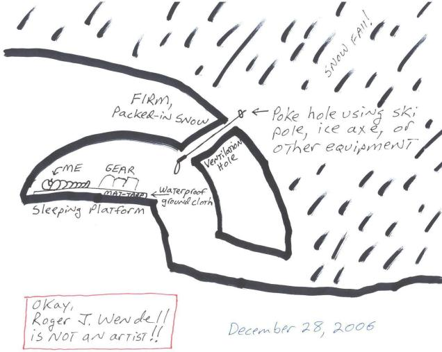 snow_cave_drawing_by_roger_j_wendell_12-28-2006