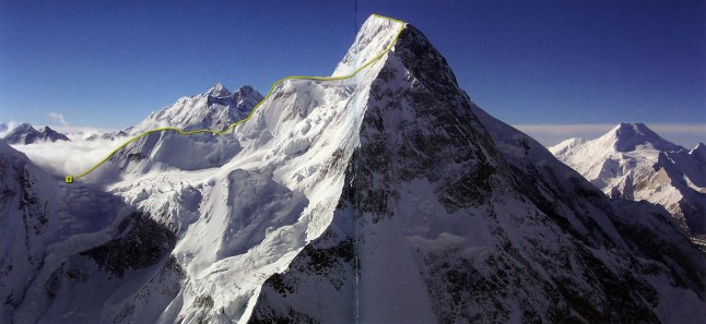 Broad-Peak-First-Ascent-Central-Summit-From-Chinese-Side-1992-Route-8000-Metri-Di-Vita-8000-Metres-To-Live-For