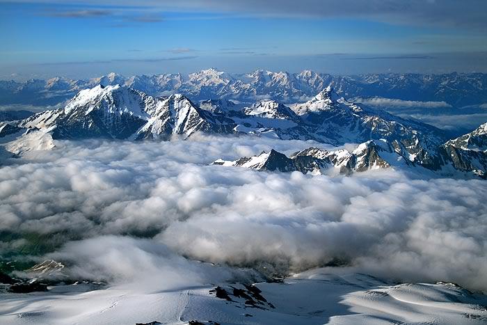 CaucasusFromElbrus2