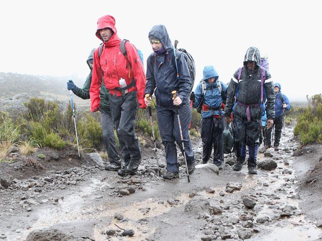 rain-hiking