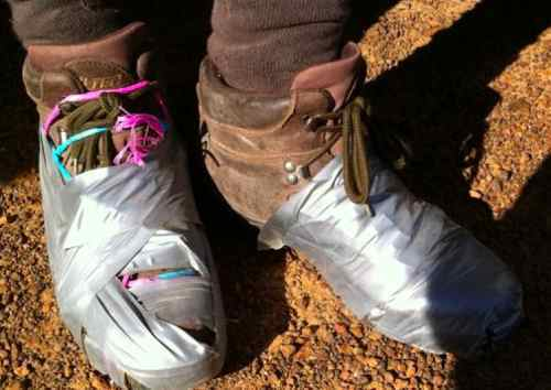 hiking-boots-duct-tape